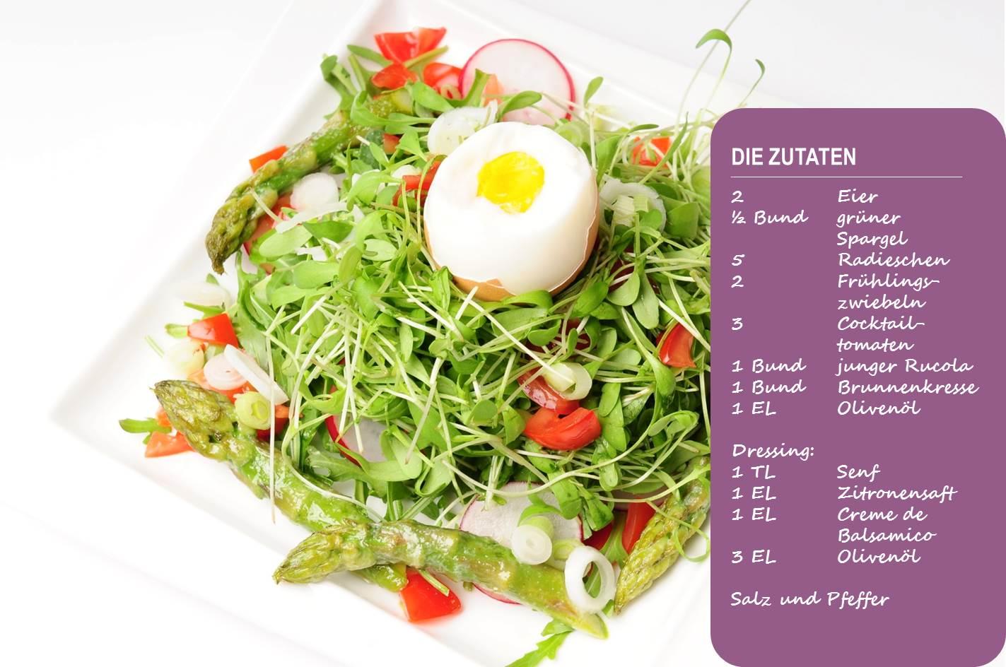 Abnehmen BodyChange Frühlingssalat