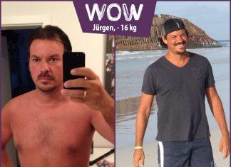 Jürgen im Vorher-Nachher-Vergleich