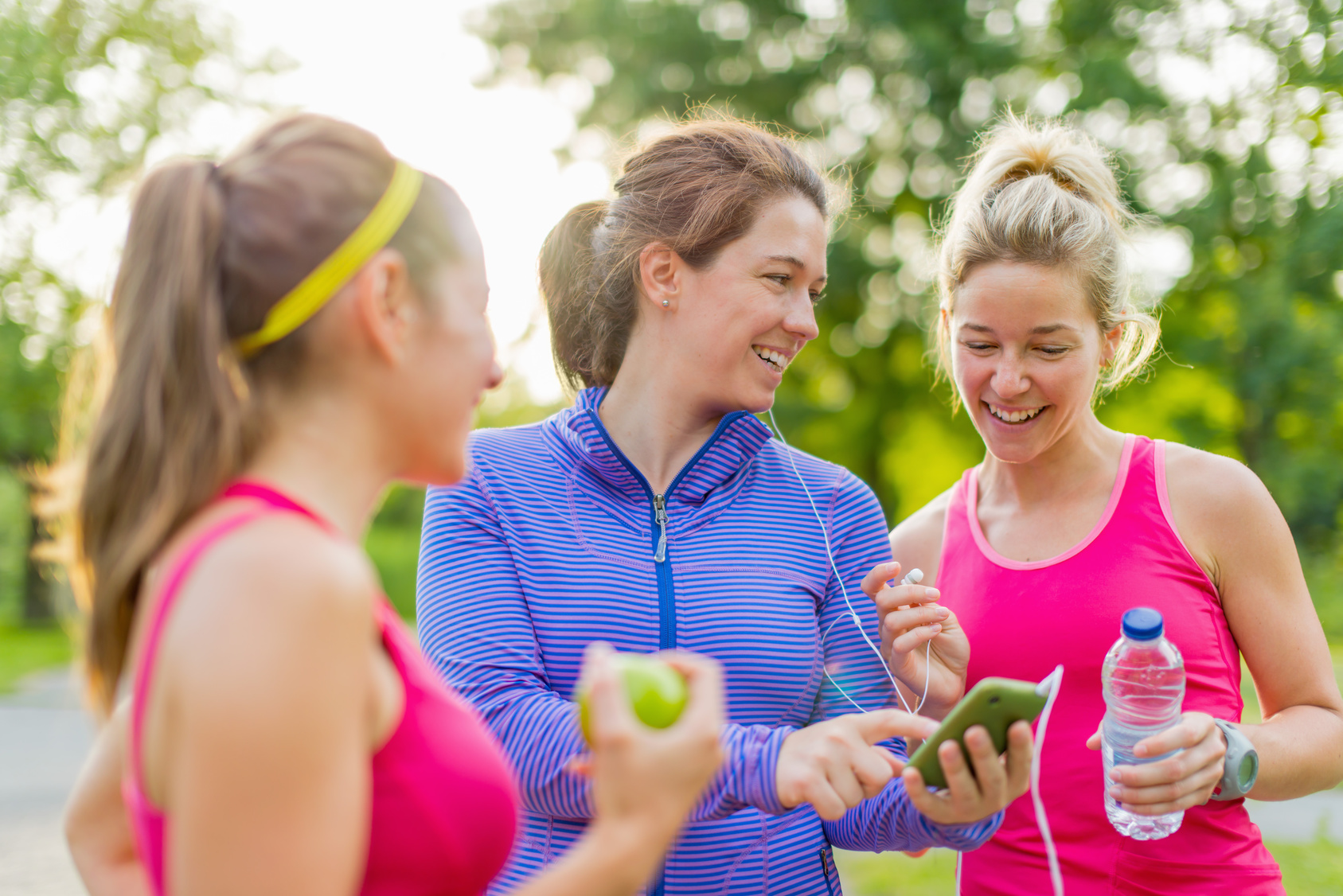 gemeinsames Workout im Freien
