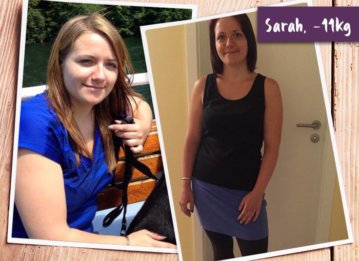 BodyChangerin Sarah Vorher-Nachher-Vergleich