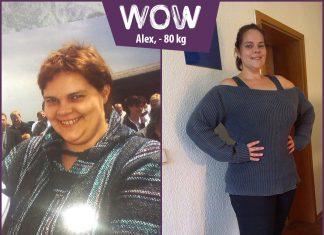 Alexandra hat unglaublich mit BodyChange abgenommen. WOW