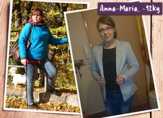 Anna-Maria im vorher-nachher-Vergleich