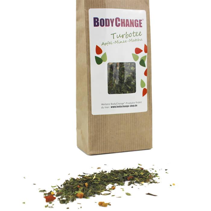 BodyChange Apfel-Minze-Matcha Tee