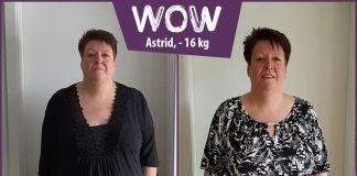 Astrid im Vorher Nachher Vergleich