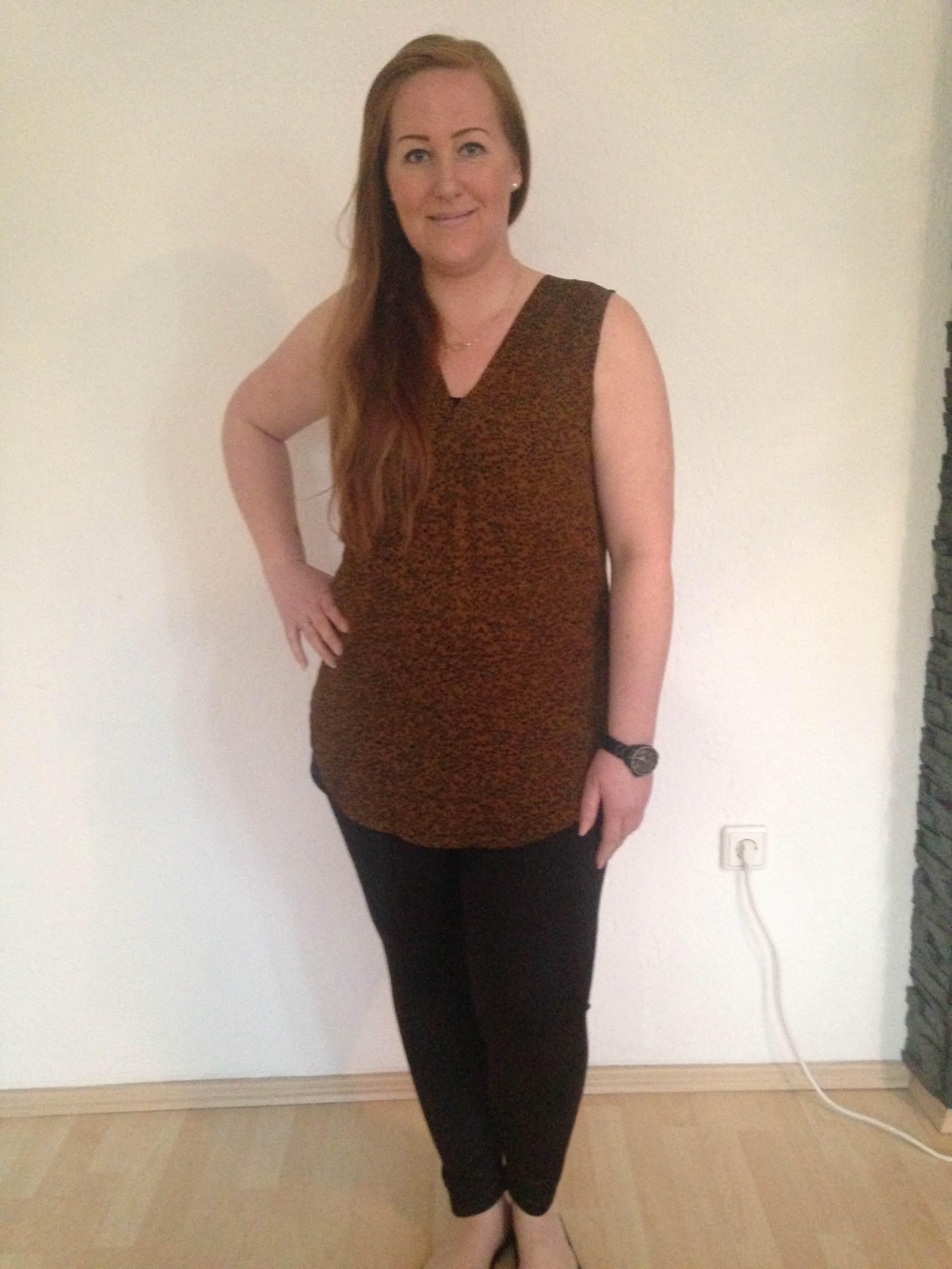 Caroline hat mit BodyChange -11kg abgenommen