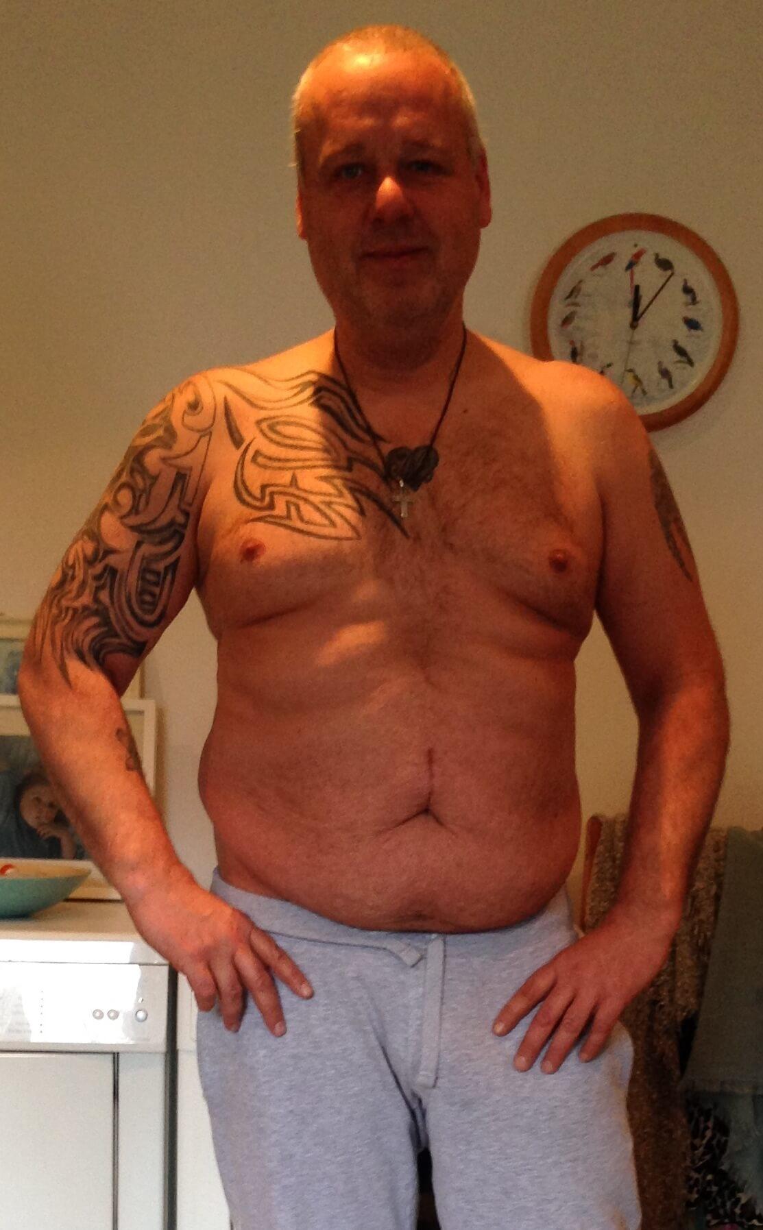 Sven -17kg nach BodyChange