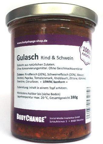 BodyChange im Glas_Gulasch