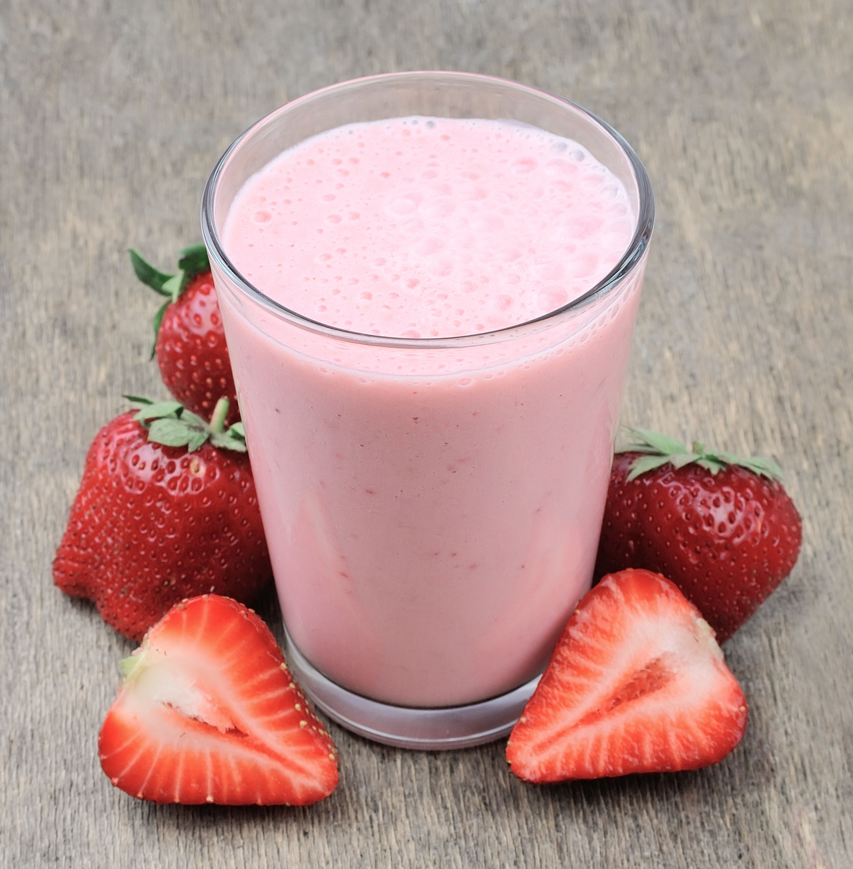 I MAKE YOU SEXY Shake mit Erdbeeren