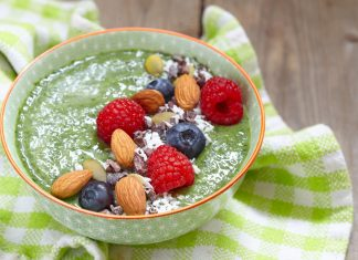 Smoothie Bowl aus Superfoods
