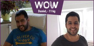 Daniel ist weg von den Heißhungerattacken