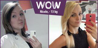 Nicole ist endlich wieder selbstbewusst