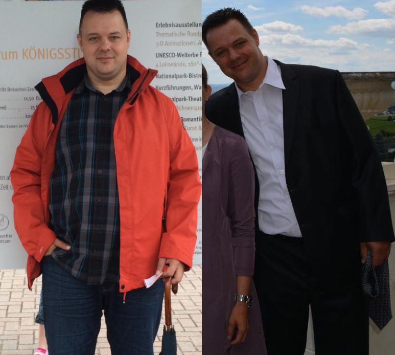Über 27 kg sind bei Ihno dank BodyChange weg