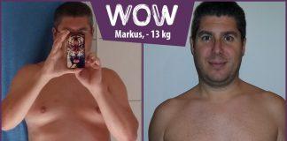 Markus hat mit BodyChange abgenommen