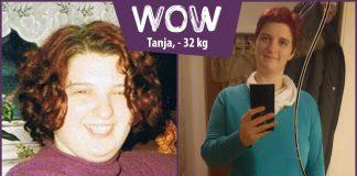 Tanja hat ohne hungern abgenommen