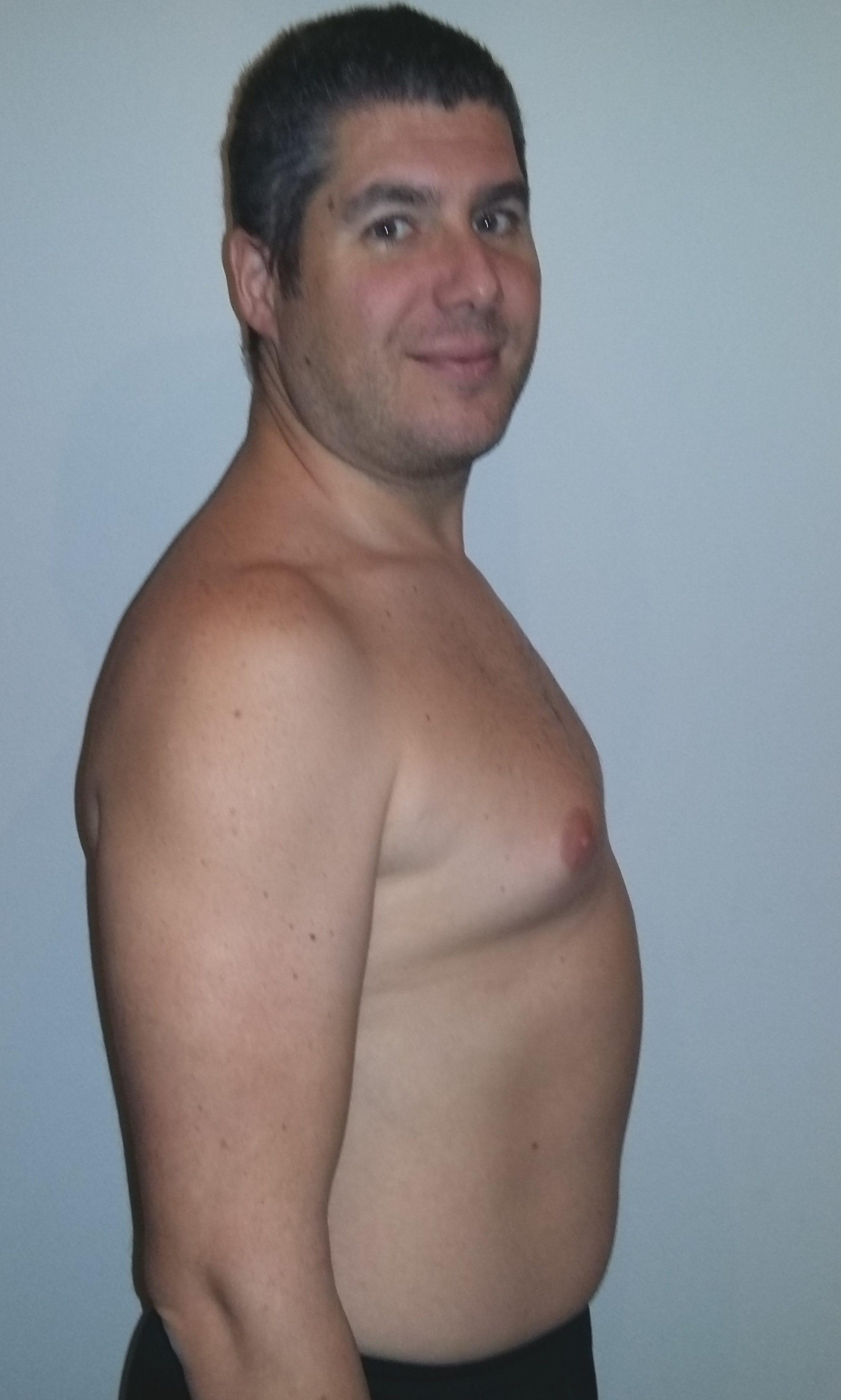 Markus hat mit BodyChange erfolgreich abgenommen