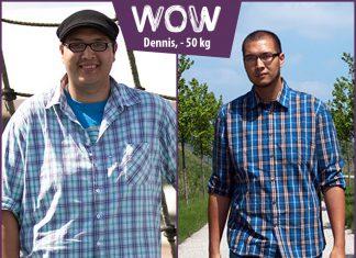 BodyChanger Dennis freut sich über seinen Abnehm-Erfolg von - 50 kg!