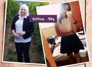 Bettina im vorher-nachher-Vergleich