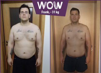Frank hat mit BodyChange 31 kg abgenommen