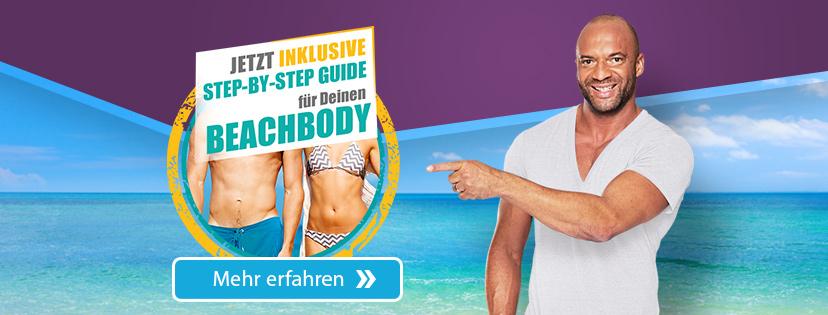 Jetzt gratis step-by-step guide für deinen Beachbody