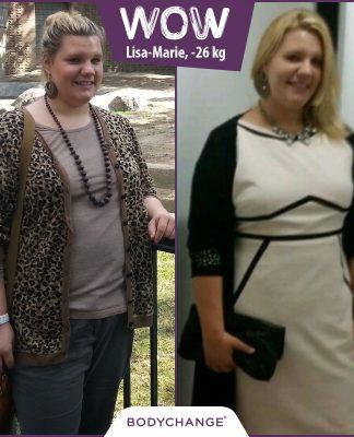 Lisa-Marie im Vorher-Nachher-Vergleich