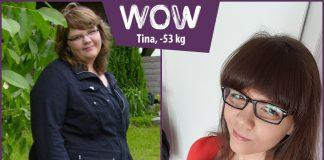 Tina im Vorher-Nachher-Vergleich