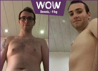 Dennis im vorher-nachher-vergleich