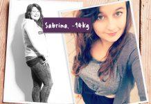 Sabrina im Vorher-Nachher-Vergleich