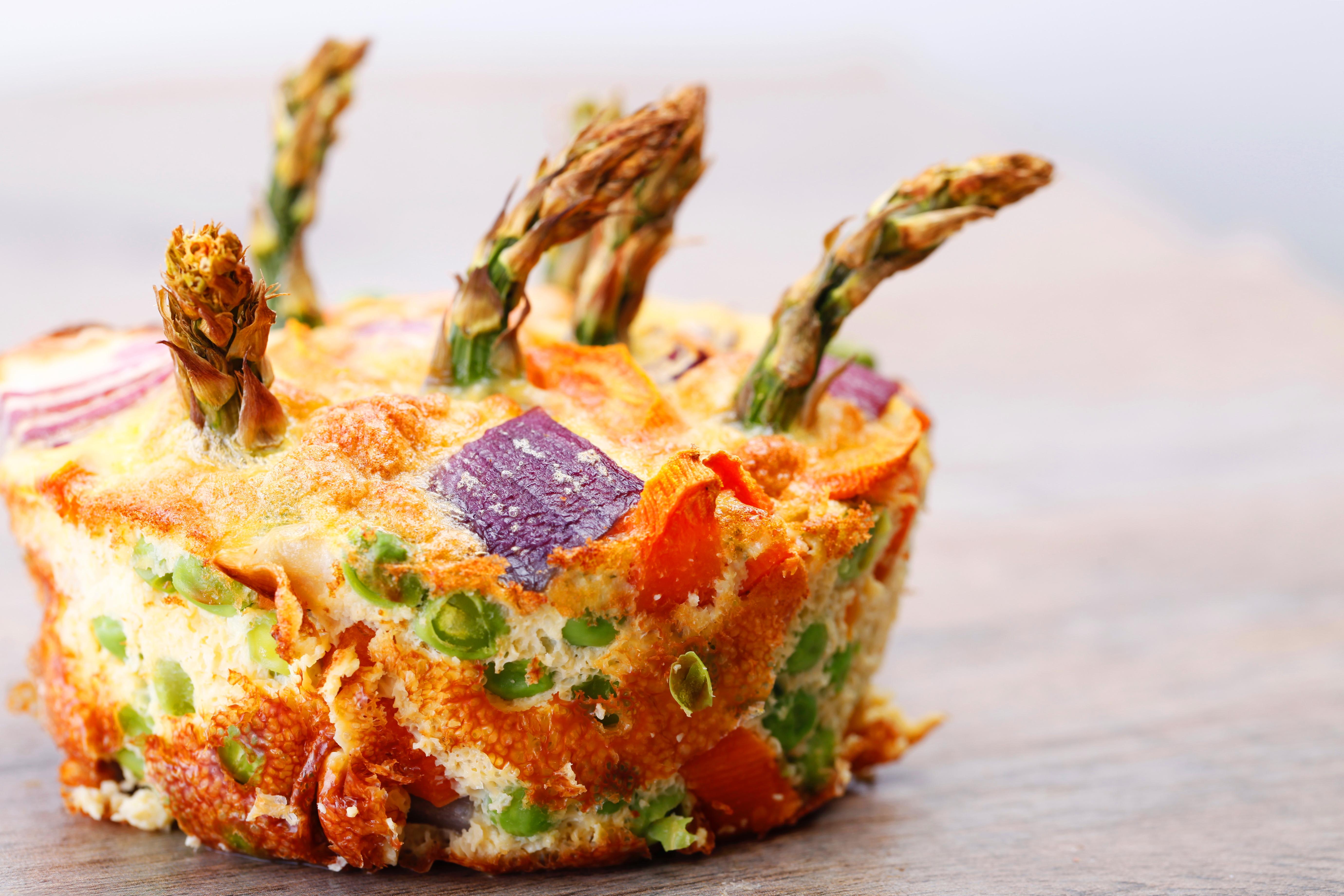 Gemüse Frittata