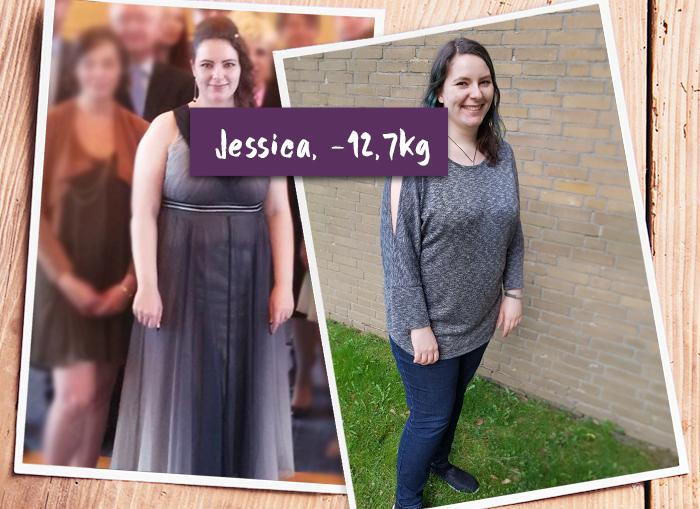 Jessica im Vorher-Nachher-Vergleich