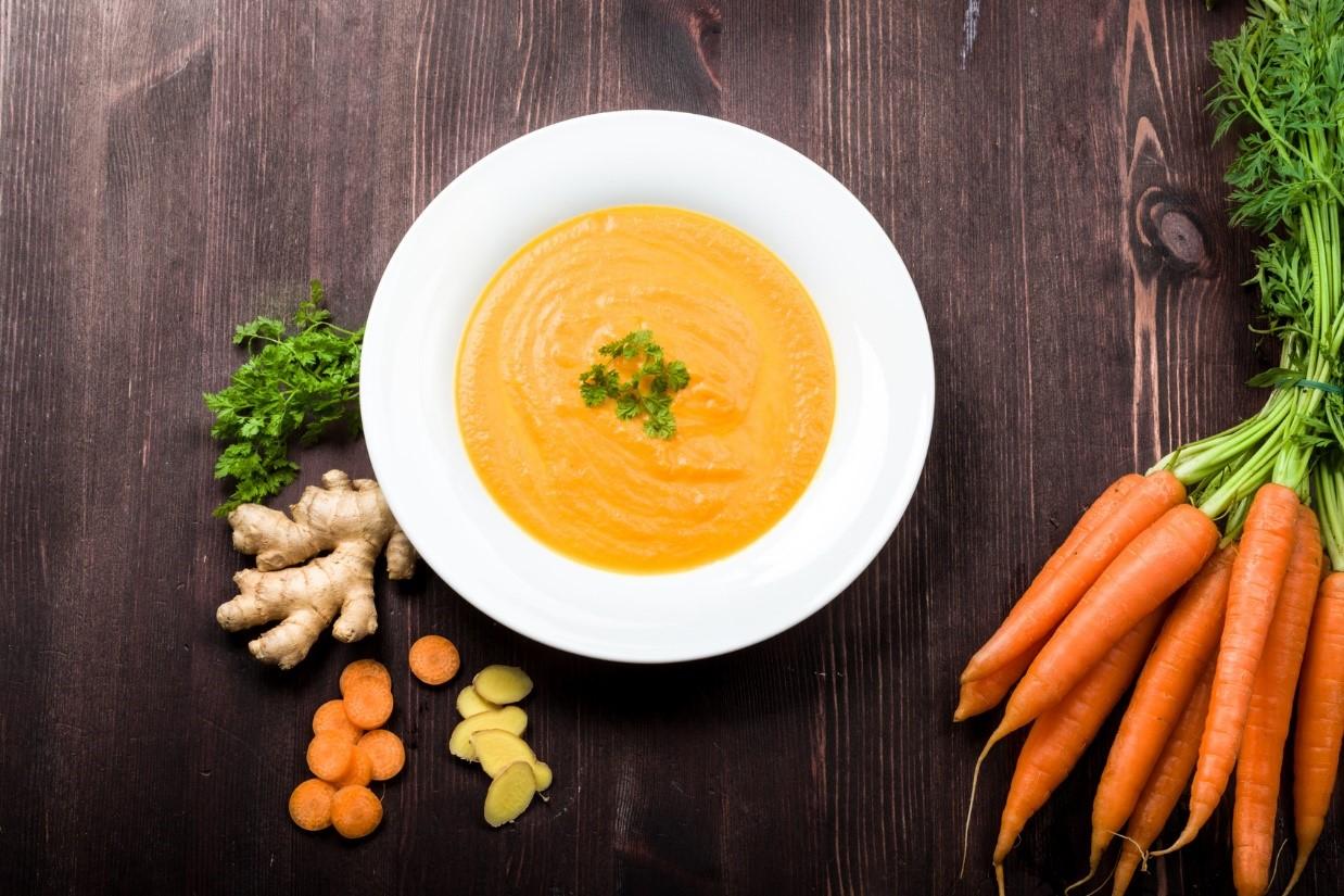 Karotte Ingwer Suppe