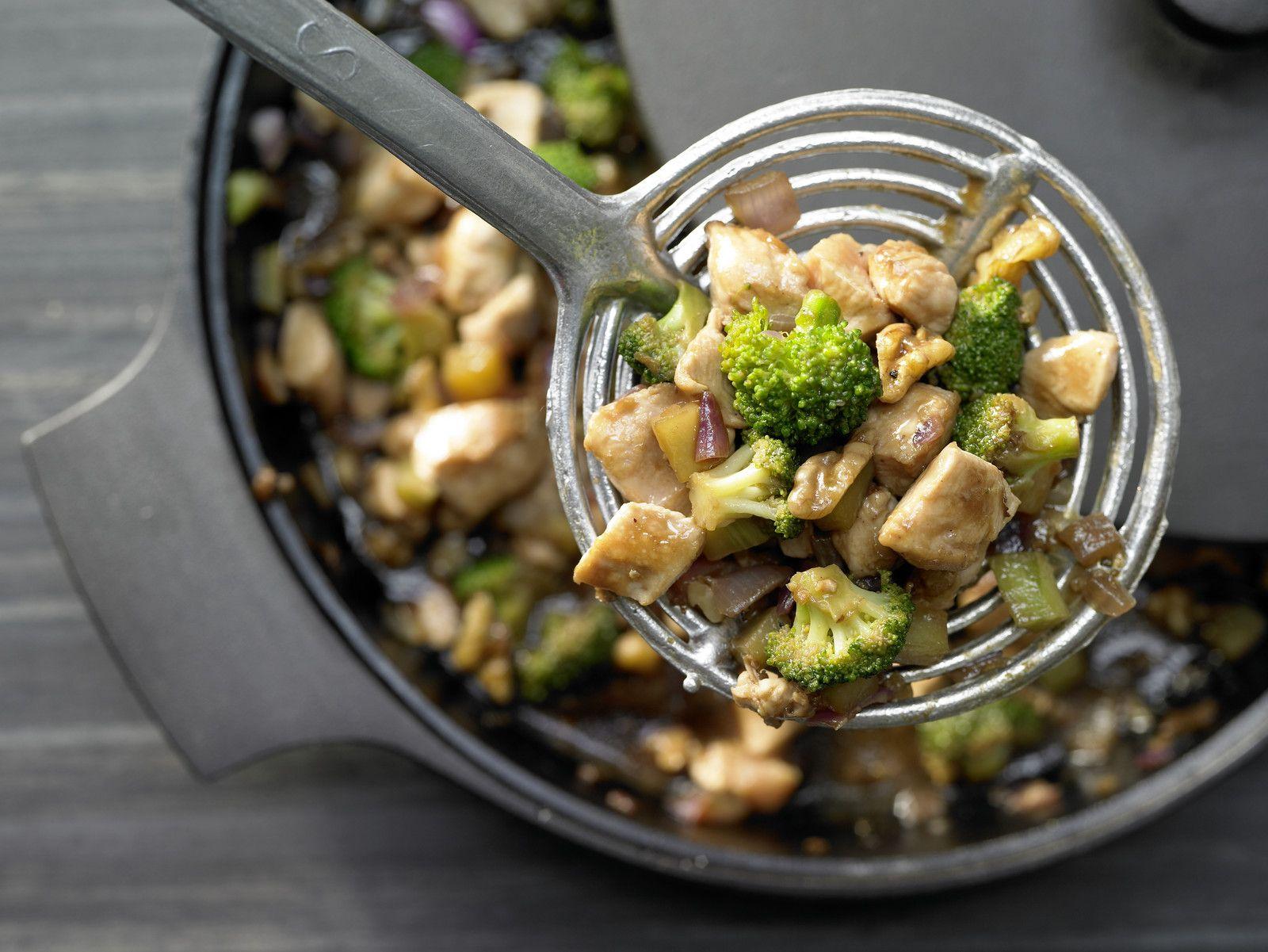 Hähnchen Brokkoli Wok