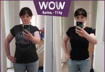 Karina im Vorher-Nachher-Vergleich