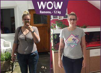 Ramona im Vorher-Nachher-Vergleich