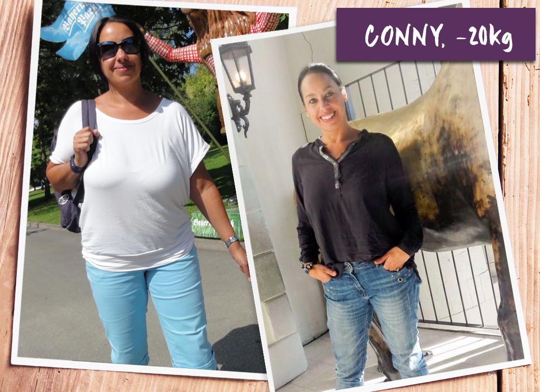 conny 20 kg so seh ich mich wieder gern bodychange. Black Bedroom Furniture Sets. Home Design Ideas