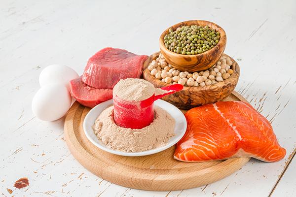 Abnehmen mit proteinreichen Lebensmitteln