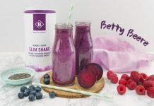 Slim Shake Rezept roote Beete und Beeren
